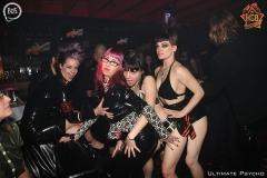 Calamety Steph & Coco & Rack Framboise & Petite Sukub / photo: Ultimate Psycho / event: Are You Fetish? / venue: AKGB / city: Lyon