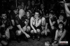 the public for Rack Framboise / show: Love Salem / photo: Robert Darklight / designer: Westward Bound / light: Charly Burn & Cie / event: Fetish Project / venue: Brussels
